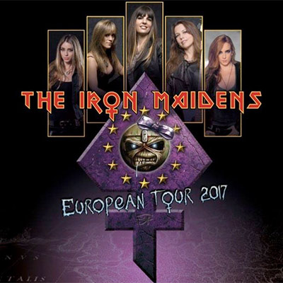 THE IRON MAIDENS (15. November 2017 – Nürnberg, Hirsch)