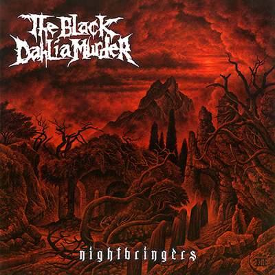 the black dahlia murder nightbringers CD Cover