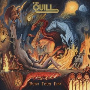 THE QUILL BORN FROM FIRE CD COVER