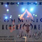 THRESHOLD, COMMUNIC, MACHINE MEN und SERENITY, Bochum, Matrix, 03.09.2007