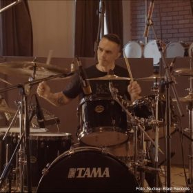 "THY ART IS MURDER: Drum Playthrough zum Song ""Human Target"""