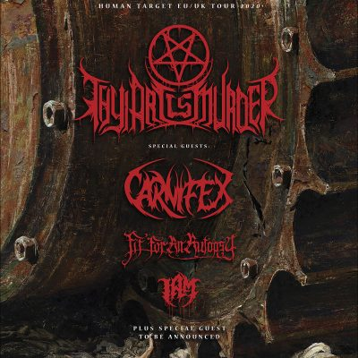 THY ART IS MURDER: auf Tour mit CARNIFEX & FIT FOR AN AUTOPSY