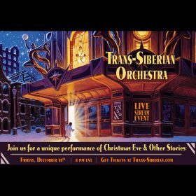 "TRANS-SIBERIAN ORCHESTRA: Livestream ""Christmas Eve and Other Stories Live in Concert"" am 18. Dezember"
