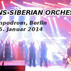 TRANS-SIBERIAN ORCHESTRA: Tempodrom, Berlin, 25.01.2014