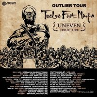 "TWELVE FOOT NINJA; Uneven Structure:  ""Outlier"" Europatour 2017"