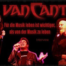 VAN CANTO: Für die Musik leben ist wichtiger, als von der Musik zu leben