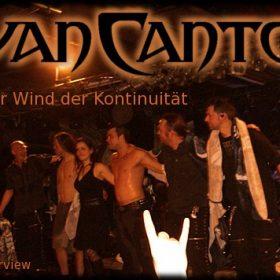 VAN CANTO: Der Wind der Kontinuität