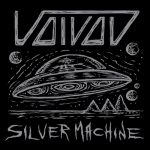 voivod silver machine singl ecover