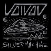 voivod silver machine singl ecover