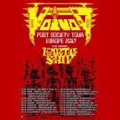voivod post society tour 2017