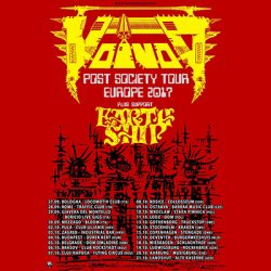 voivod post society tour 2017