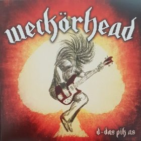 WECKÖRHEAD/ SMOKING HUT ON STONES: d-das pik as/ rock n roll god [Vinyl Single]