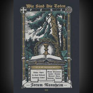 WIR SIND DIE TOTEN: 2-Tages-Festival in Mannheim mit GRAVE PLEASURES, JUCIFER, NADJA