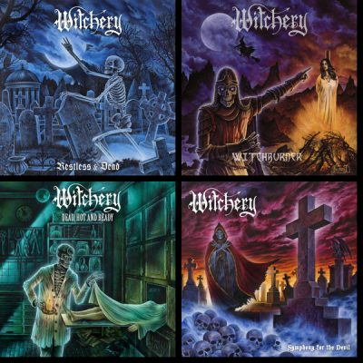 "WITCHERY: weiterer Song der Re-Releases von ""Restless & Dead"", ""Witchburner"", ""Dead, Hot And Ready"", ""Symphony For The Devil"""