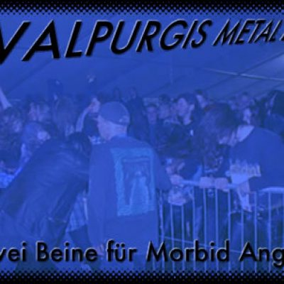 WALPURGIS METAL DAYS, Kathi Rauecker: Zwei Beine für MORBID ANGEL