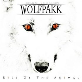 "WOLFPAKK: Cover-Artwork zu ""Rise Of The Animal"""