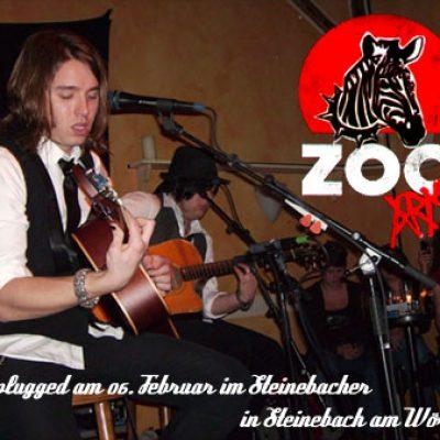 ZOO ARMY: Unplugged, Steinebach, Steinebacher, 06.02.08
